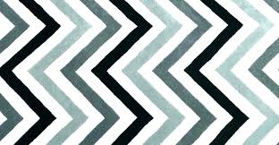 black blue chevron rug navy area and white zigzag next