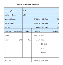 Free Download Offline Payroll Excel Program For Everyone