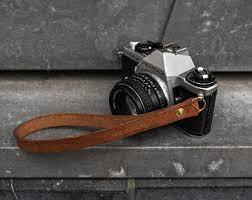 <b>Leather camera wrist</b> strap | Etsy