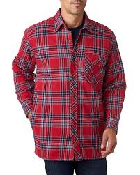 Backpacker BP7002 - Men's Flannel Shirt Jacket with Quilt Lining ... & Backpacker BP7002 - Men's Flannel Shirt Jacket with Quilt Lining Adamdwight.com