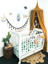 hippie baby nursery room ideas new bedding on duvet covers nature themed crib perfect