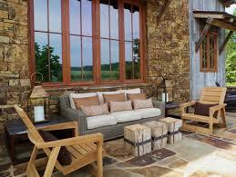rustic patio furniture ideas