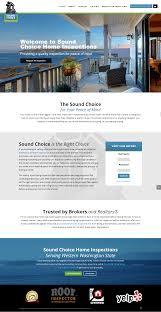Website Design Seattle Wa Sound Choice Home Inspections Seattle Washington Puget Sound