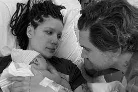 first child with boyfriend Alev Aydin