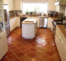 kitchen tile flooring. Fine Tile Glossy Brown Tiles Kitchen Flooring Centered Island With Drawers  And Wood Top Luxurious Throughout Kitchen Tile Flooring 7