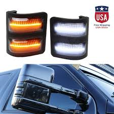 2008 Ford Fusion Side Marker Light Details About Led Side Mirror Marker Lights Smoked For 08 16 Ford F250 F350 F450 Switchback Ny