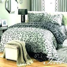 black and white damask duvet bedding pink bed sheets park covers grey comforter king size mask