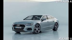2019 Audi A7 First Look Four Door Fastback - YouTube