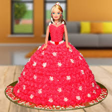 Black Forest Barbie Doll Cake Winni
