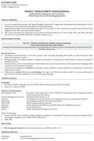 Software Developer Resume Junior Engineer Example For Engineering ...