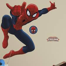 ultimate spider man giant wall stickers