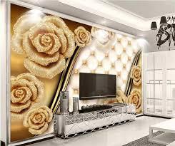 Online Shop <b>beibehang Custom Photo Wallpapers</b> 3d Luxury Gold ...