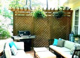 garden privacy screen ideas diy outdoor uk patio screens decorating