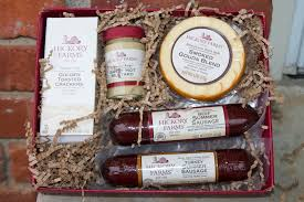 hickory farms gift basket gift idea