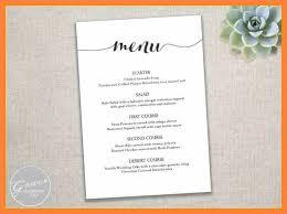 Microsoft Word Restaurant Menu Template Beauteous 48 Free Menu Design Templates Word Andrew Gunsberg