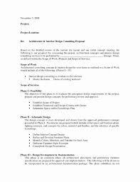 Lighting Design Proposal Sample Elegant 8 Sample Proposal Template ...