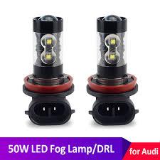 Audi A3 8v Fog Light Bulb Us 9 93 25 Off H8 H11 Led Fog Lights Bulb H1 H3 H7 White 50w Daytime Running Lights For Audi A4 B8 B6 B7 A6 4f C6 C5 A3 8p 8v A5 A7 A8 Q3 Q5 Q7 In