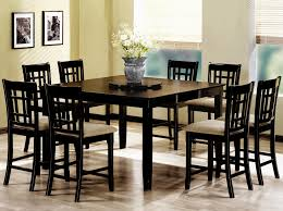 counter height table sets tall dinette sets square counter height dining table sets