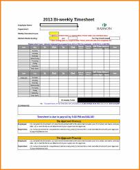 Sample Biweekly Timesheet Custom 44 Bi Weekly Timesheet Calculator Saintconnect