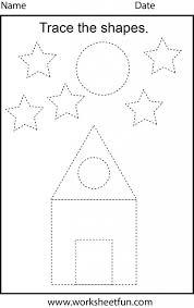 Kindergarten Shapes Worksheets For Kindergarten Math Identifying ...