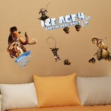 Small Picture Ice Age 4 Continental Drift Wall Sticker Online Shopping