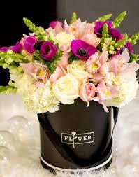 Flower box design Planter Ideas Luxury Flower Box With Fresh Flowers Ps Floral Design Luxury Flower Box With Fresh Flowers In North Miami Beach Fl