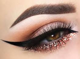glitter cat eye pinit