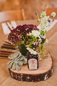 Boulder Springs Wedding by Mayhar Design. Rustic CenterpiecesWildflower ...