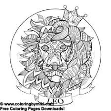 46 Best Color Pages Images Coloring Pages Zodiac Signs Astrology