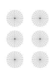Polar Graph Paper Sample Free Download