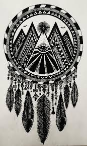 Aztec Dream Catcher Tattoo Amun Ra's Dreamcatcher tattoo's Pinterest Aztec Tattoo and 1