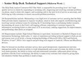 Help Desk Resume Sample Complete Guide 20 Examples