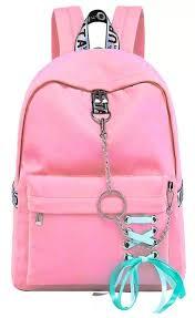 TYPIFY® Fashion Waterproof Nylon <b>Women Girls</b> Backpack <b>Korean</b> ...
