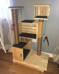 diy cat tree cat condo what an awesome idea diy cat tree easy