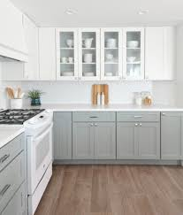 kitchen design white cabinets white appliances. Kitchen Designs With White Appliances Classic Nice Design  Grey\u0026white Cabinets And Wood Floor Kitchen Design White Cabinets Appliances B