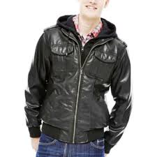 jcpenney leather er jackets