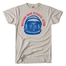 T Shirt Design Columbus Oh Godspeed John Glenn Homage Retro Shirts Graphic Shirts
