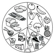 Healthy Eating Coloring Pages Healthy Food Coloring Sheets Page