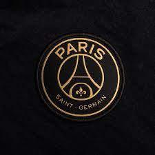 Paris Saint-Germain Anthem Jacke Jordan x PSG - Schwarz/Bordeaux/Weiß/Gold