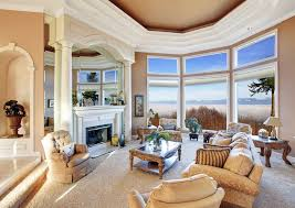 beautiful rooms furniture. Beautiful Living Room With Pillar Fireplace And Mountain View Rooms Furniture I