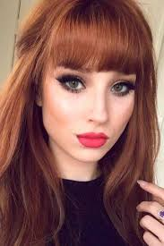 Sexy Hairstyles With Bangs For Every Hair Kind To Have A Sexy Look