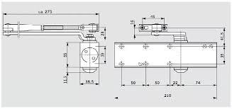 <b>Доводчик Dorma TS Profil EN2</b>-5 (серебро) от 40кг до 160кг ...