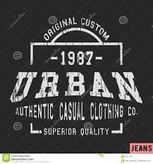 Label Print Design T Shirt Print Design Stock Vector Illustration Of Clothing