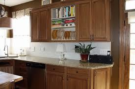 solid oak wood arched cabinet doors kitchen cupboard door handles cream high gloss stone countertop white