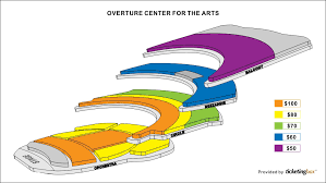 Overture Seating Chart Specific Overture Hall Seating Chart Overture Center Box Office