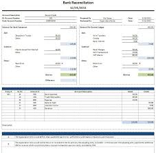 Bank Reconciliation Template Simple Monthly Bank Reconciliation Business Template Vilanovaformulateam