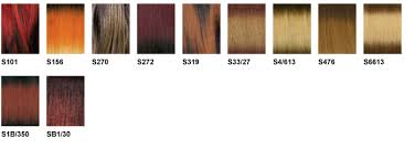 Zury Sis Color Chart Zury Color Charts