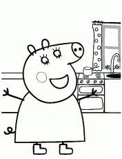 peppa pig picbook ciff ciaff peppa pig coloring pages cool coloring pages