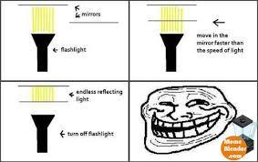 Troll Science - Endless Light via Relatably.com