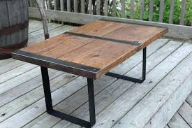 industrial coffee table kmart round wood rustic diy